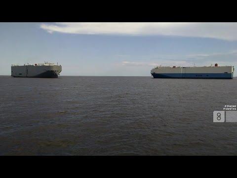 Ship Meet: Courageous Ace / Durban Highway (St. Simons, 2015/06/04)