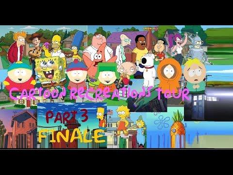 South Park in Minecraft Season 2 Episode 2: Cartoon Recreations Tour (Finale)