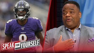 Jason Whitlock: I'm done doubting Lamar Jackson   NFL   SPEAK FOR YOURSELF