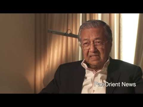 Mahatir Mohamad, Former PM of Malaysia talks about Obama & Trump