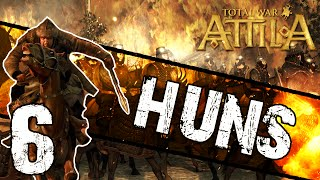 Total War: Attila - Huns Campaign #6 ~ The Eastern Lands!