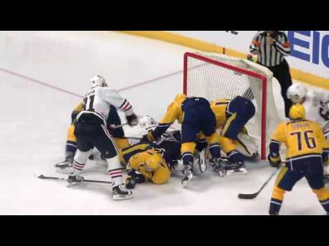 NHL : Stanley Cup : Chicago Blackhawks vs Nashville Predators : 04/20/2017 : (1-4) : Sports : News