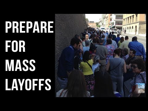 U.S. Companies Laying Off Employees At FASTEST Rate Since the Financial Crisis!