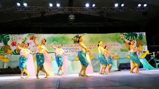 การแสดงโรงเรียนติกาหลังนาฏศิลป์ไทย ชุด รอยไทย