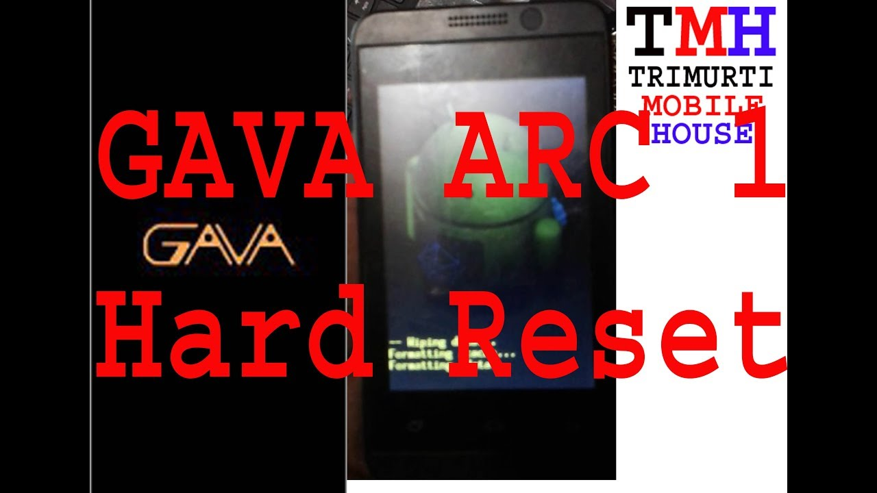 gava arc 1 hard reset gava arc one forgot password 100% work - Thủ