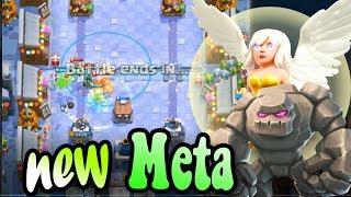 🔥Hot Meta  Battle Healer Golem 👈 Battle Healer is BROKEN Card! - Clash Royale