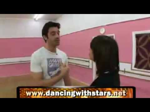 Gilles Marini & Cheryl Burke Cha Cha Dancing with the Stars DWTS