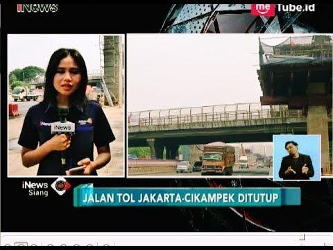TOL Jakarta-Cikampek Ditutup Mulai Malam Ini Hingga Subuh - iNews Siang 17/07