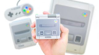 Turn Your GameBoy SP Into A SNES!