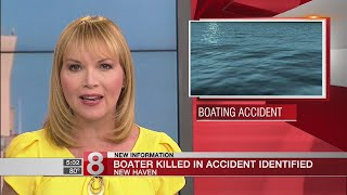 DEEP identifies Milford man killed in New Haven Harbor boating accident