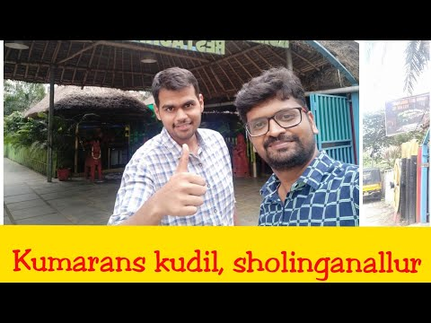 Eating Lunch At Kumarans Kudil Sholinganallur, Chennai | Naachys Entertainer