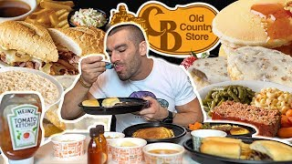 Pancakes | Biscuits & Gravy | French Dip & More | Cracker Barrel MUKBANG