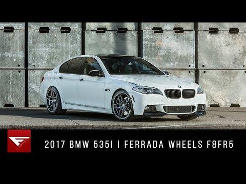 2017 BMW 535i   Ferrada Wheels F8FR5