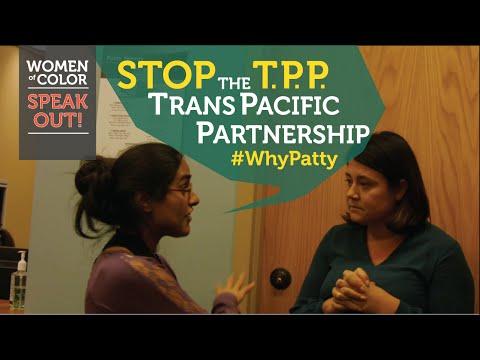 STOP the TPP - Senator Patty Murray Hides - #whypatty