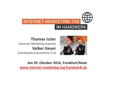 Internet-Marketing-Tag im Handwerk in Frankfurt