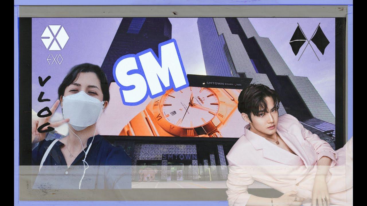 [VLOG ولاگ - Korea]  بازدید ازSMTOWN & COEX GANGNAM طرفدار های اس ام، اکسو ببینند
