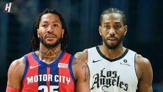 Detroit Pistons vs Los Angeles Clippers - Full Highlights | January 2, 2020 | 2019-20 NBA Season