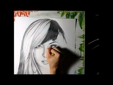 Allison Green Speed Drawing