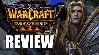 Warcraft 3: Reforged Review - The First Big Disappointing Game of 2020 (Video Game Video Review)