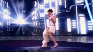 A British Dog Trick Act By Ashleigh And Pudsey - Britains Got Talent 2012 Semi Final