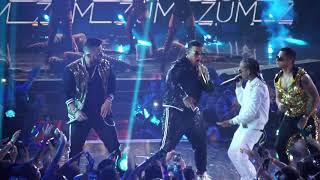 Daddy Yankee Rkm &amp Ken-Y Arcangel - Zum Zum Premios Juventud 2018 (Detras de Camaras)
