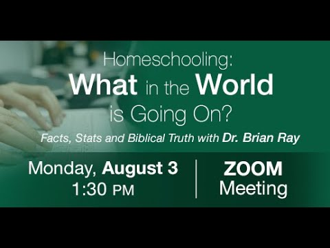 Homeschooling: What In The World Is Going On?