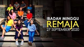 Ibadah Minggu 27 September 2020 untuk Remaja