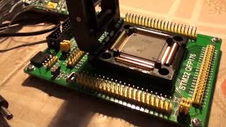 Waveshare STM32 QFP176 тестовый адаптер. Часть 1.