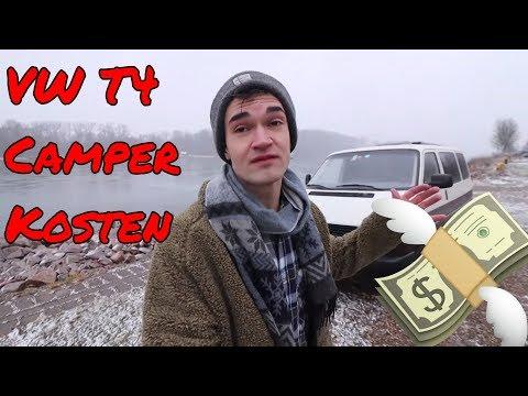 Wie Viel Hat Mein VW BUS AUSBAU Gekostet?! | Camper Bulli Kosten