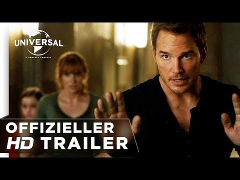 Jurassic World: Das Gefallene Königreich Trailer #2 deutsch/german HD