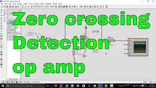 zero crossing detection using ap amp