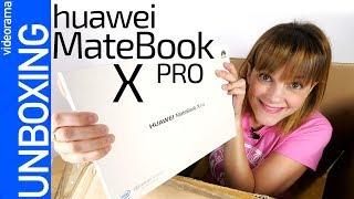 Huawei MateBook X Pro unboxing -¿el portátil más COMPLETO?-