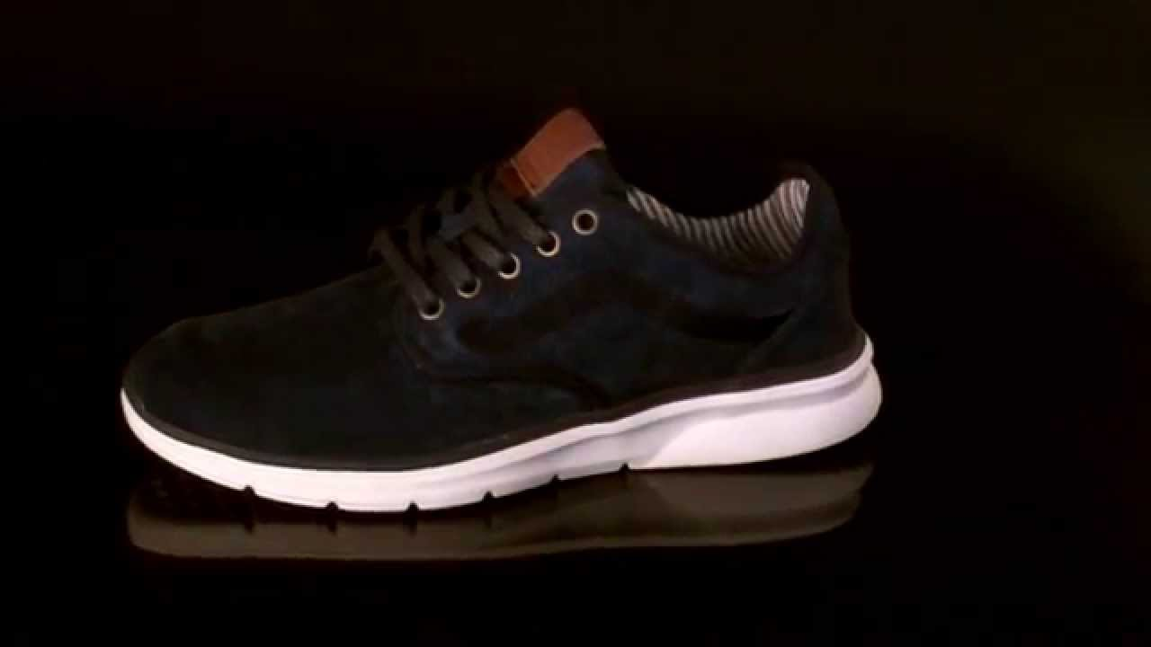 213116304e6ea2 Vans ISO 2 Sneakers Trim Dress Blues V18I4F - YouTube