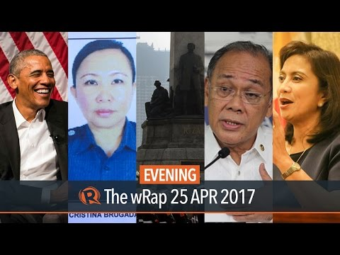 Torre de Manila, Malacanang, Robredo | Evening wRap