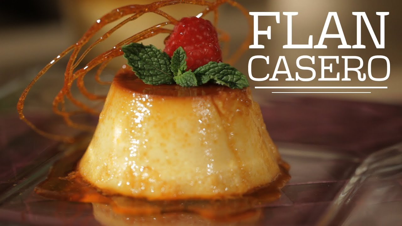 C mo preparar flan casero cocina fresca youtube for Ingredientes para hacer flan casero