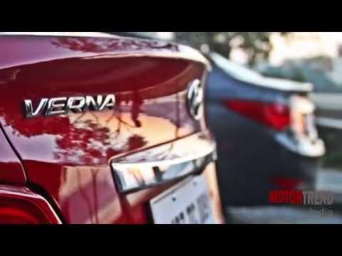New 2015 Hyundai 4S Fluidic Verna Review Motor Trend India