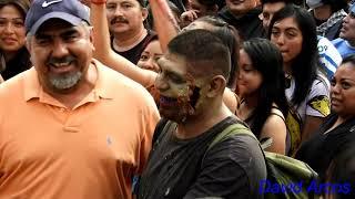 Marcha Zombie 2018 - Ciudad de México - 4K