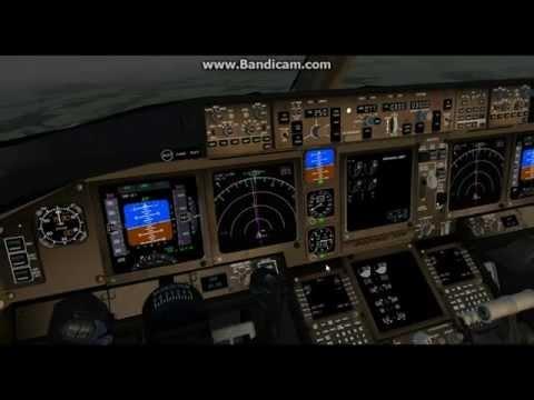 [FlightGear] (HD) Tutorial on the New 777 / Full Flight EGKK-EDDL *Commented*