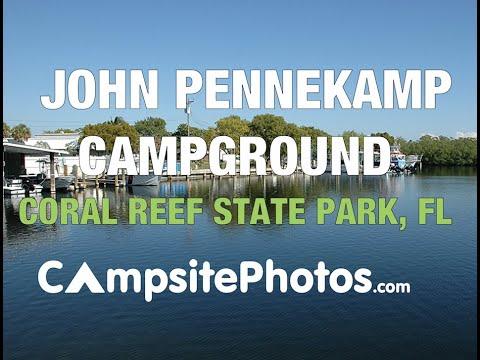 John Pennekamp Coral Reef State Park, Florida Campsite Photos