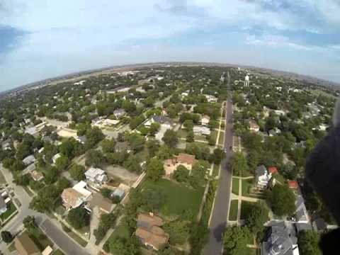 First flight over Beloit KS