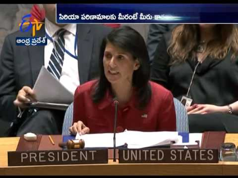 Nikki Haley Slams Russia over Syria Chemical Attack