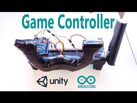Arduino Tutorial - Make a Game Controller and Create a Game in Unity