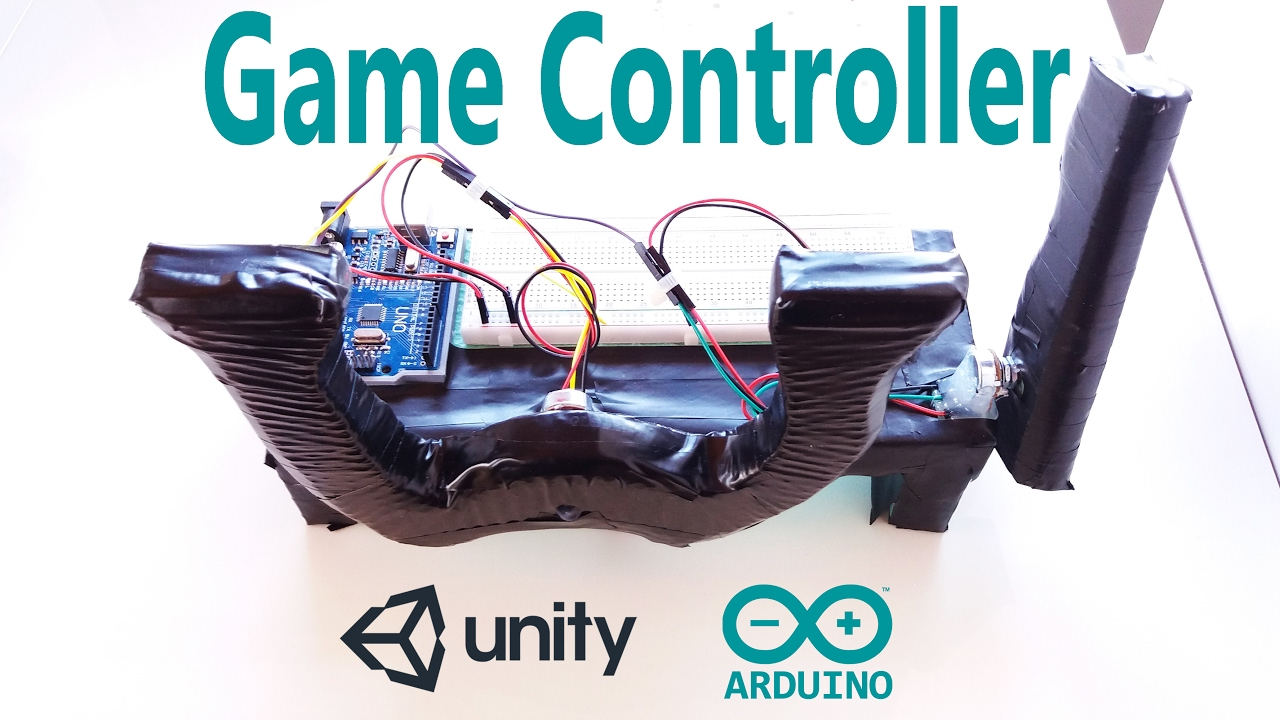Arduino tutorial make a game controller and create