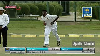 Ajantha Mendis returns to first-class cricket