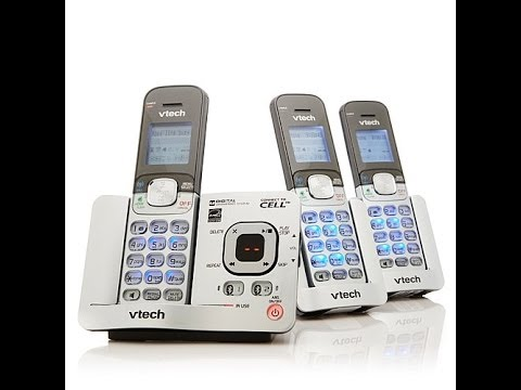 VTech 3pack Cordless Phones with LinktoCell