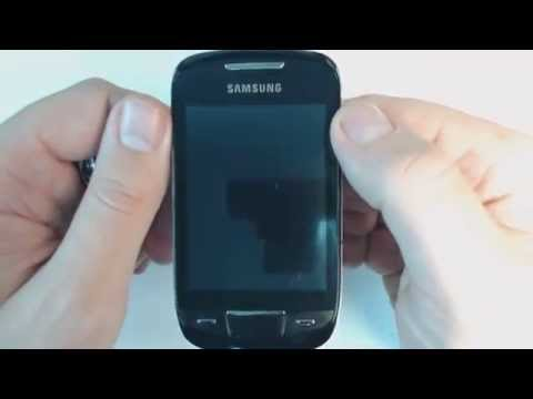 How to master reset Samsung Corby 2 S3850 YouTube