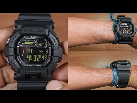 734963fc70e0 CASIO G-SHOCK GD-350-1B FULL BLACK - UNBOXING - YouTube