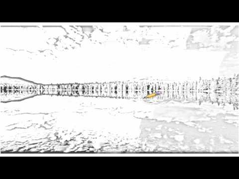 Auto Draw 2: Edith Lake, Jasper National Park, Can...
