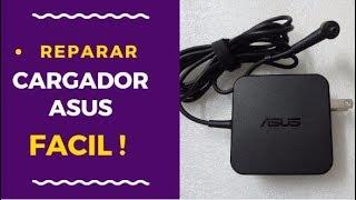 ✅ COMO ABRIR CARGADOR ASUS SIN DAÑARLO | COMO REPARAR CARGADOR DE LAPTOP ASUS | open asus charger