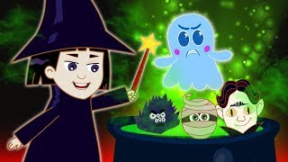 The Spooky Witch's Green Brew | Educational Cartoons for Kids | Annie and Ben